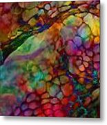 Colored Tafoni Metal Print