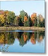 Colored Water Metal Print