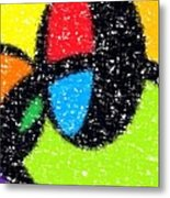 Colorful Abstract 5 Metal Print