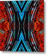 Colorful Abstract Art - Expanding Energy - By Sharon Cummings Metal Print