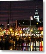 Colorful Annapolis Evening Metal Print