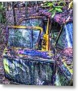 Colorful Antique Car 1 Metal Print