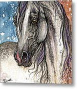 Colorful Arabian Horse  Metal Print