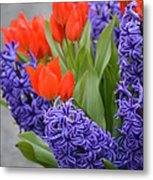 Colorful Arrangement Metal Print