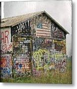 Colorful Barn Metal Print