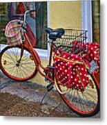 Colorful Bike Metal Print