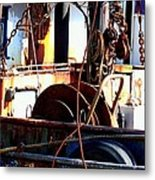 Colorful Boat Metal Print