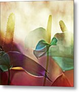 Colorful Calla Metal Print by Eiwy Ahlund