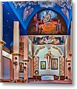 Colorful Church Metal Print