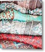Colorful Cloths Metal Print
