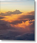 Colorful Clouds Metal Print by Brian Jannsen