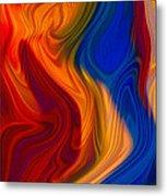 Colorful Compromises II Metal Print