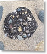 Colorful Conglomerate Metal Print