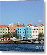 Colorful Curacao Metal Print