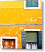Colorful Entry Metal Print