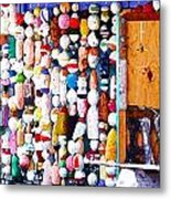 Colorful Floats Metal Print