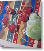 Colorful Fruit Metal Print