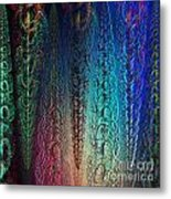 Colorful Garlands Metal Print