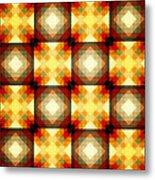 Colorful Geometric Collage Metal Print