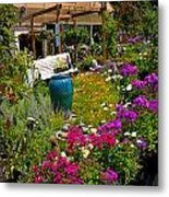 Colorful Greenhouse Metal Print