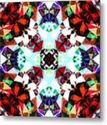 Colorful Kaleidoscope Creation Metal Print