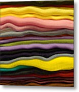 Colorful Layers Metal Print