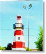 Colorful Lighthouse 2 Metal Print