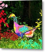 Colorful Lucy Goosey Metal Print