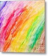 Colorful Painting Pattern Metal Print