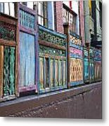 Colorful Portland Metal Print