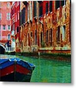 Colorful Relics Of Venice Metal Print