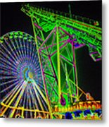Colorful Rides Metal Print by Thomas  MacPherson Jr