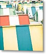 Colorful Roofs Metal Print