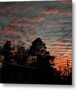 Colorful Sky Number 5 Metal Print