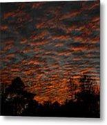 Colorful Sky Number 7 Metal Print