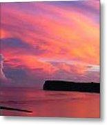 Colorful Sky -tumon Bay Guam Metal Print