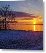 Colorful Sunrise Metal Print