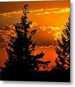 Colorful Sunset II Metal Print