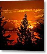 Colorful Sunset IIl Metal Print