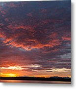 Colorful Sunset, Snaefellsnes Metal Print