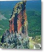 105830-colorful Volcanic Plug Metal Print