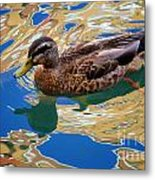 Colorful Waters Metal Print