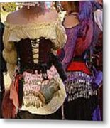 Colorful Wenches Metal Print