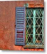 Colorful Window Metal Print