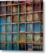 Colorful Windows  Metal Print