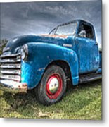 Colorful Workhorse - 1953 Chevy Truck Metal Print