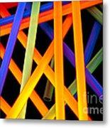 Coloring Between The Lines Metal Print