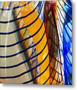 Colors And Lines Metal Print
