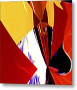 Colors And Shapes Metal Print
