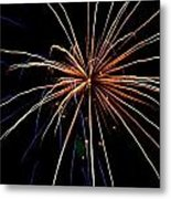 Colors Bursting Metal Print